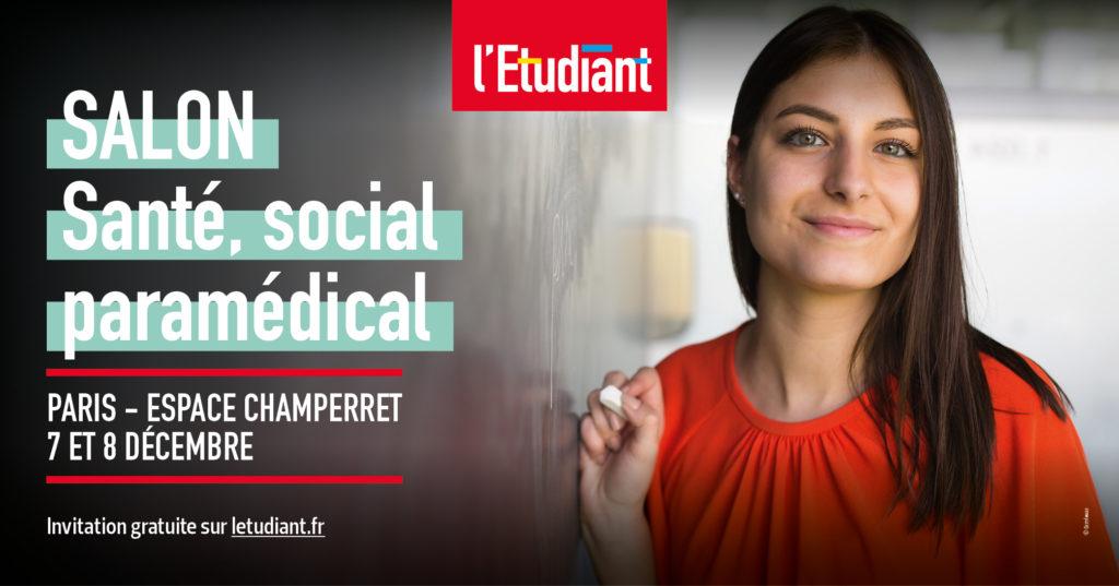 Le CEESO Paris, école d'ostéopathie au Salon de l'Etudiant Santé, social paramédical 2019