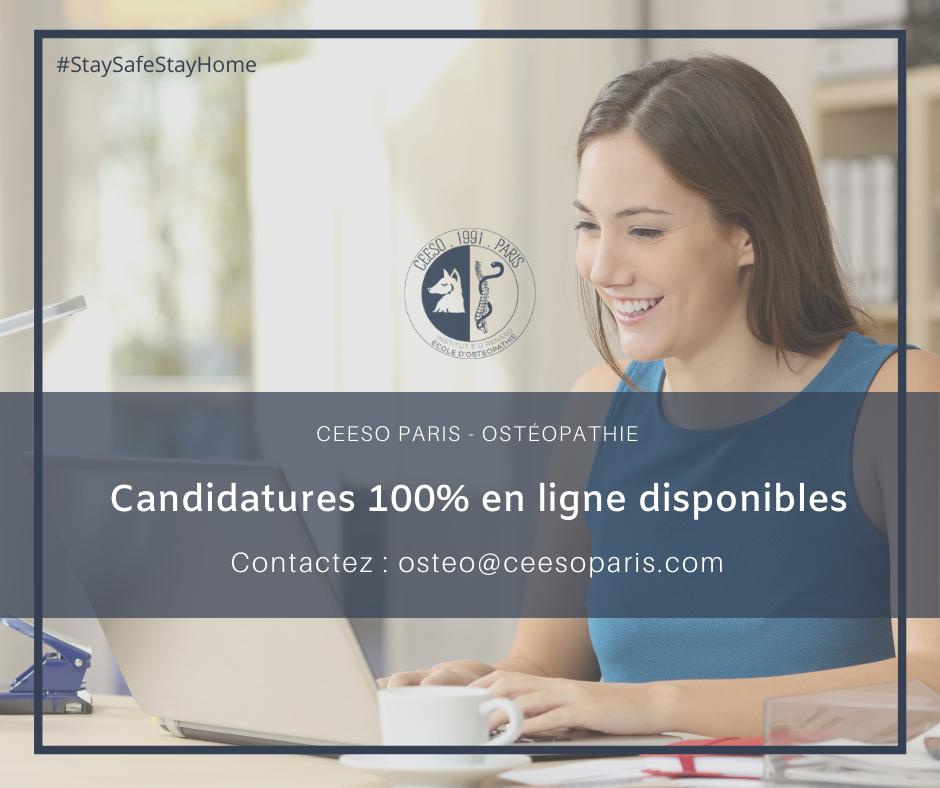 Candidatures en ligne CEESO Paris